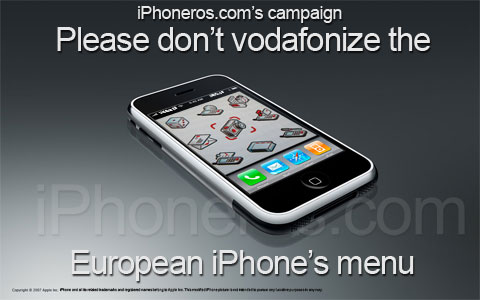 Don't Vodafonize The iPhone