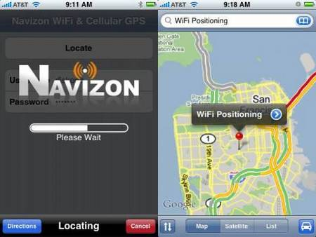 GPS en el iPhone 1