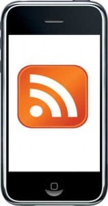 RSS on iPhone