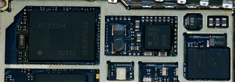 Chipset del iPhone 3G