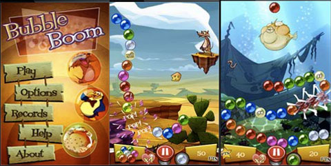 Bubble Boom para iPhone y iPod Touch