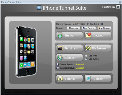 iPhone Tunnel Suite