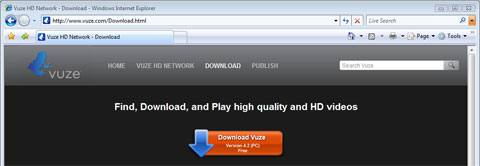 Descarga Vuze Windows