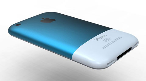 iPhone Chromatic azul