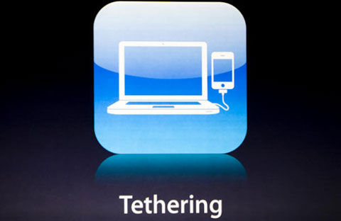 Tethering en el iPhone