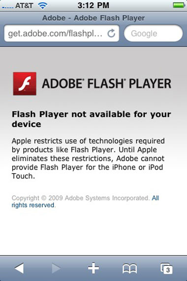Flash para iPhone