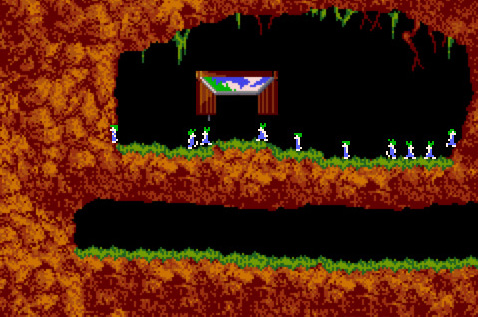 Los Lemmings en el iPhone