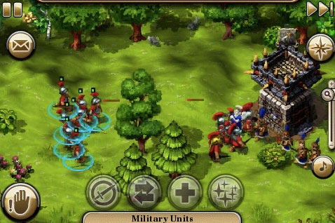 The Settlers para iPhone