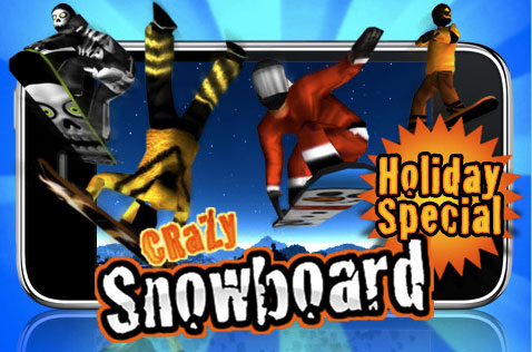 Crazy Snow Board gratis