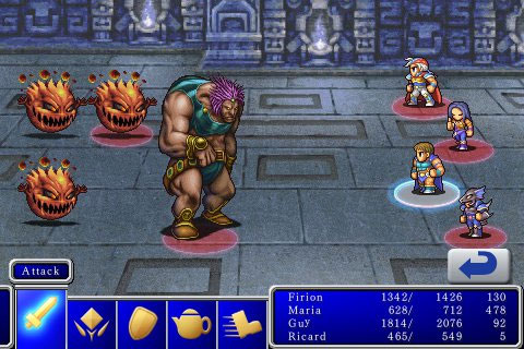 Final Fantasy en el iPhone