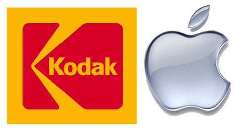 Kodak y Apple
