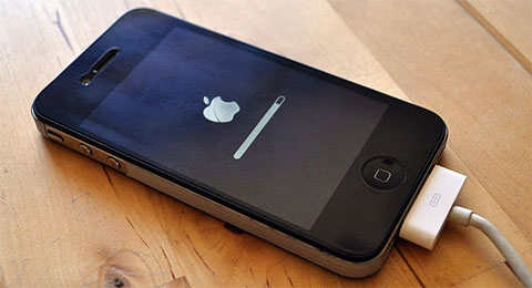 Actualizando el iPhone 4