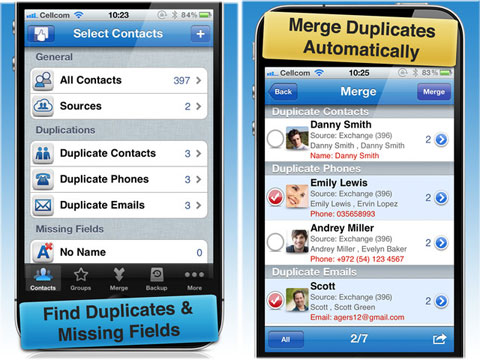 Multi Edit - Contacts Manager