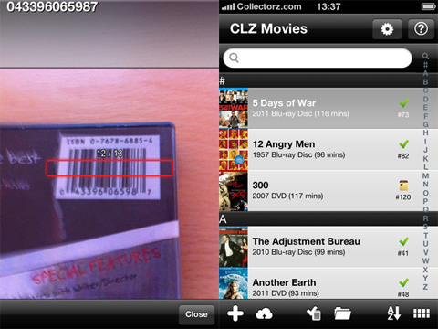 CLZ Movies - Movie Collection Database