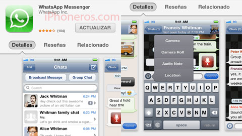 Whatsapp 2.8.7