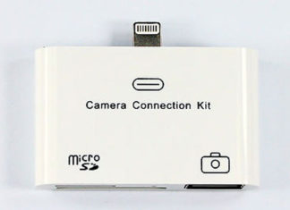 Camera Connection Kit con Lightning