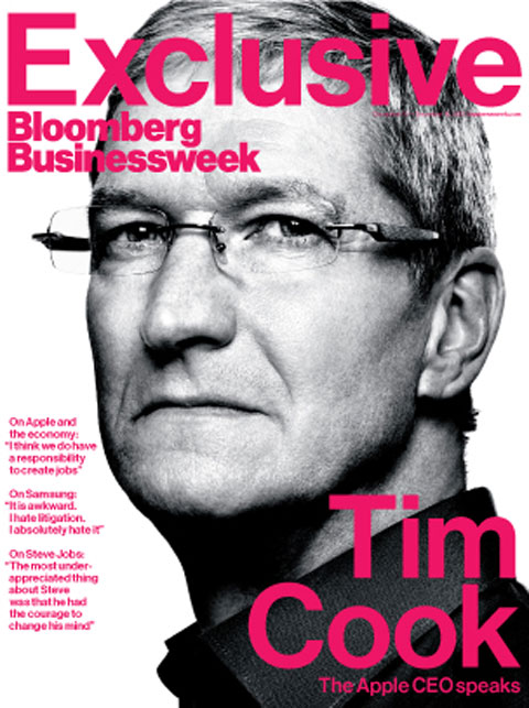 Tim Cook en Businessweek