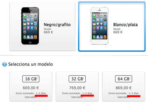 iPhone 5 libre