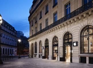 Apple Store de Opera - París
