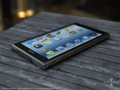 iPhone 6 al estilo iPod Nano