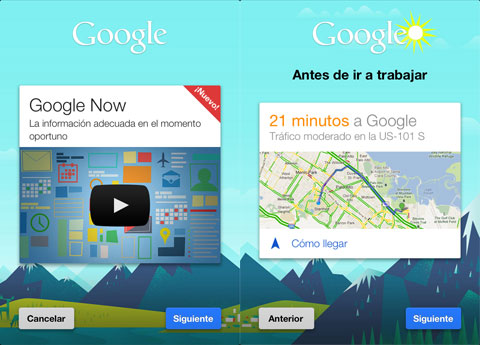 Google Now en iOS