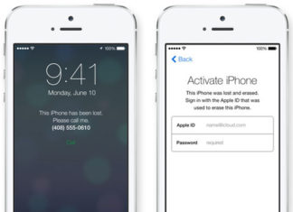 Activar iPhone con Buscar mi iPhone