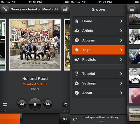 Groove: Smart Music Player for iPhone and iPad