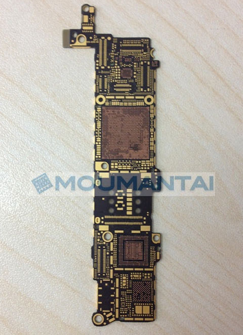 Supuesta plana base del iPhone 5S