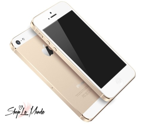 iPhone 5 en color champagne