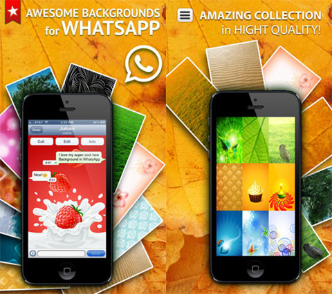 Backgrounds for WhatsApp Messenger