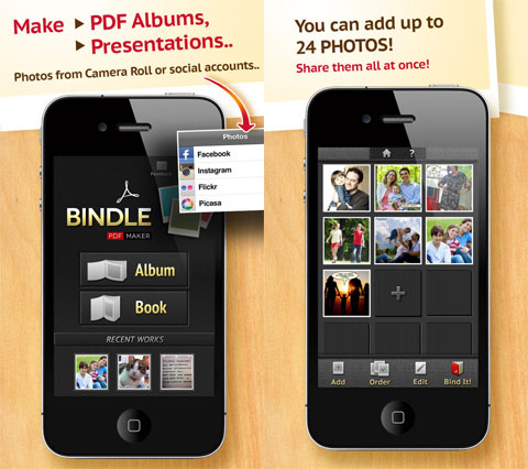 Bindle PDF Maker