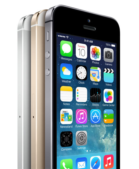 iPhone 5S en tres colores