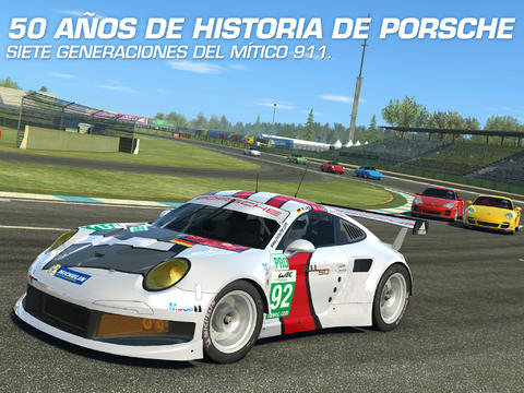 El Porsche 911 en Real Racing 3