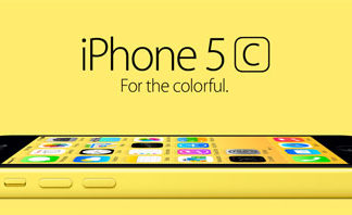 iPhone 5C amarillo