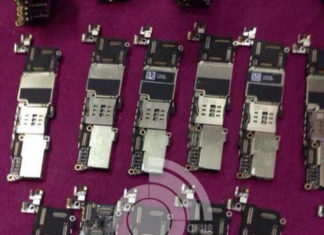 Supuesta placa base del iPhone 5C