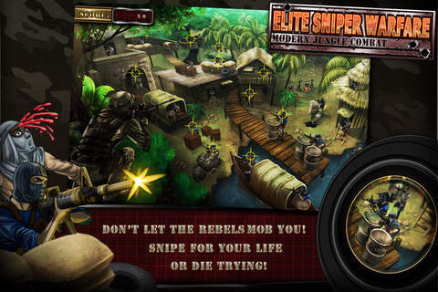 Elite Sniper Warfare: Jungle Combat, Full Game