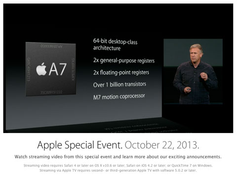 Video del evento de Apple
