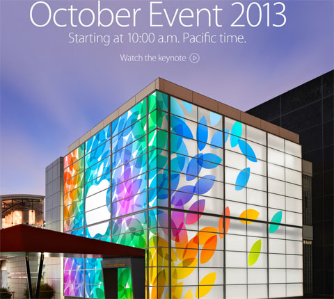 Evento de Apple disponible en la web de Apple