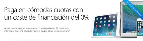 Financiación productos de Apple