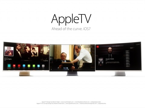 Concepto de diseño de Apple TV