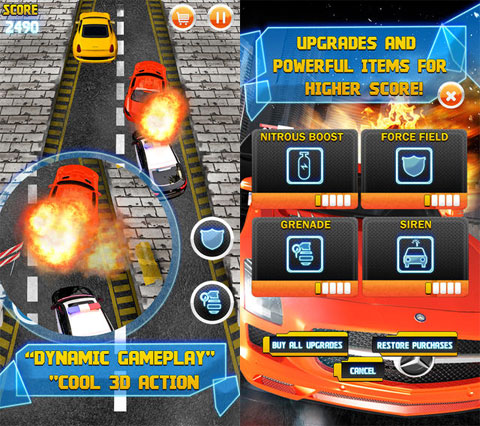 Armored Cop Car VS Extreme Robbers HD PRO!