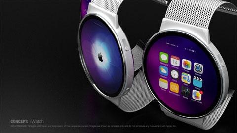 iWatch circular de Mark Bell