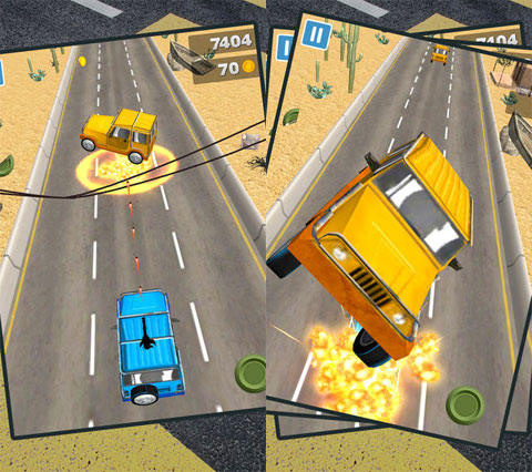 3D Jeep Racing Frenzy Game - Pro Version
