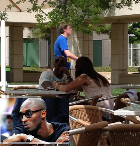 Kobe Bryant en el Campus de Apple