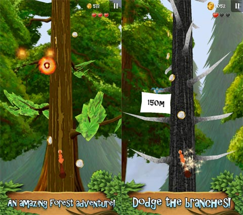 Nuts!: Infinite Forest Run
