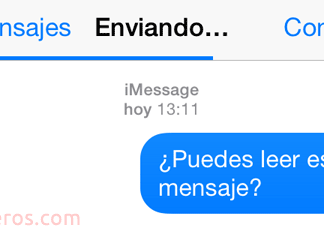 iMessage que no llegan