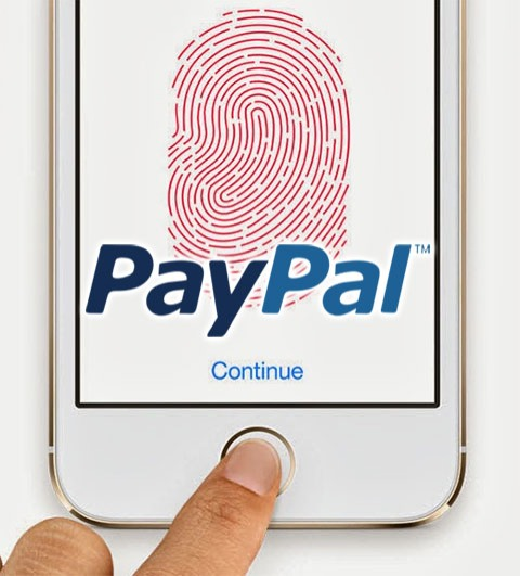 PayPal y Touch ID