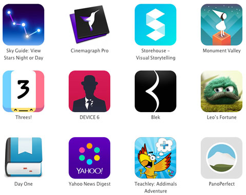 Apple Design Awards WWDC 2014