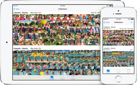 Fotos en iOS 8