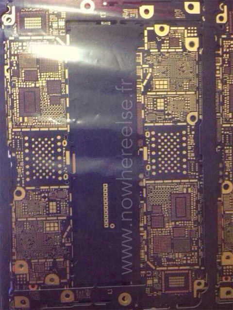 Supuesta placa base del iPhone 6